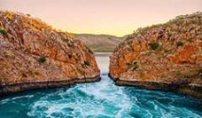 Horizontal falls the Kimberley