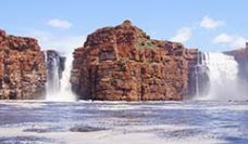 King George Falls The Kimberley Australia