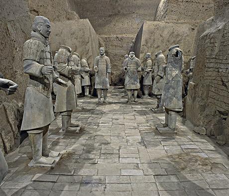 NGV Terracotta Warriers