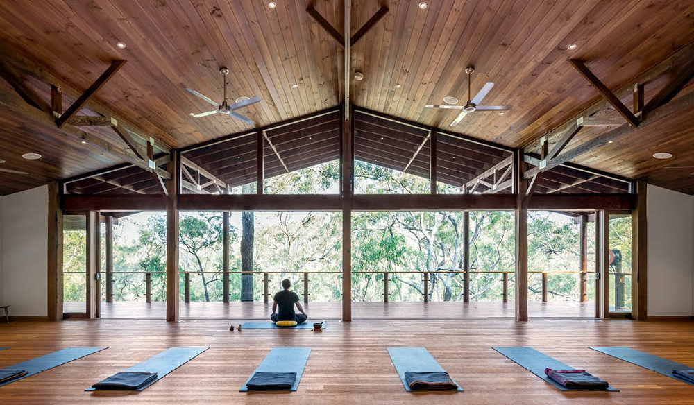 Billabong Retreat Treetop Yoga Room
