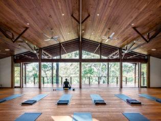 Billabong Retreat Treetop Yoga Room