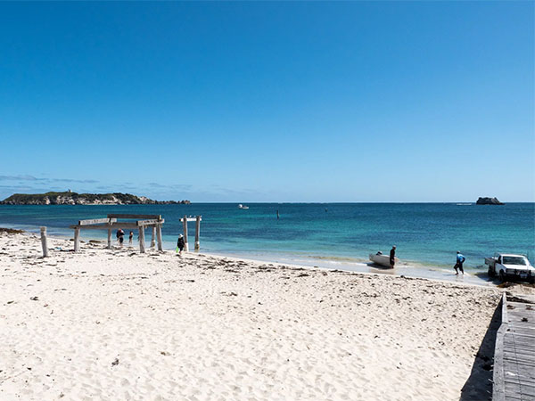 Camp at the iconic Hamelin Bay Beach