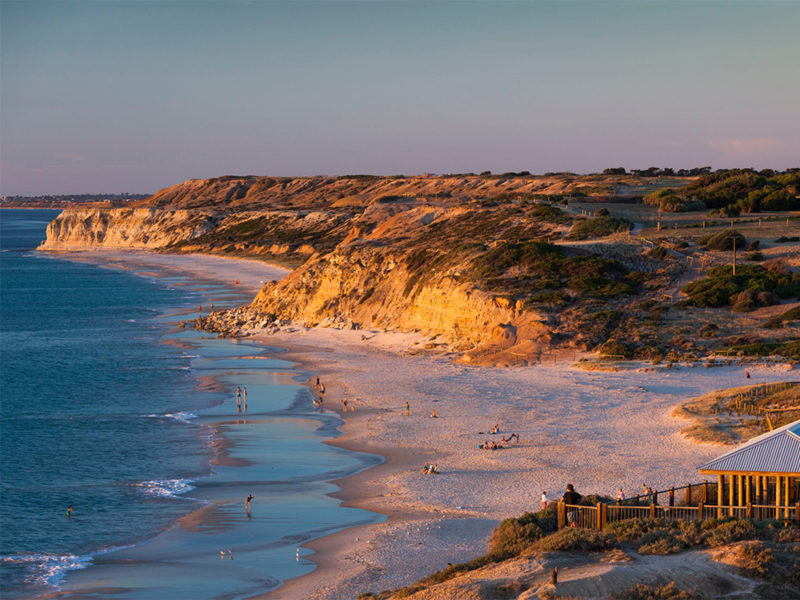 Sunset at Port Willunga