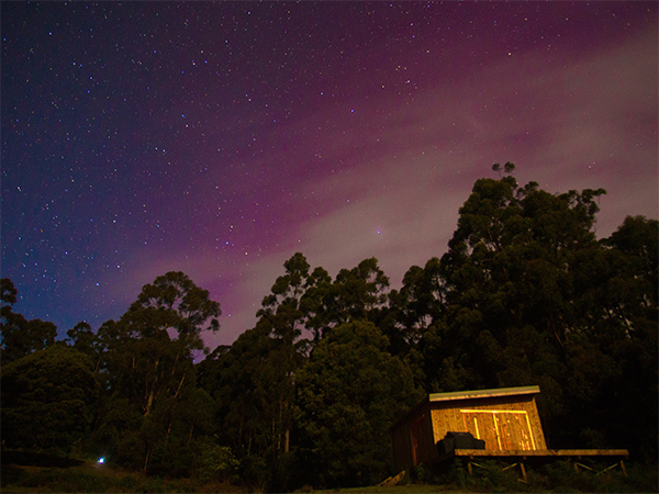 Bruny Island aurora