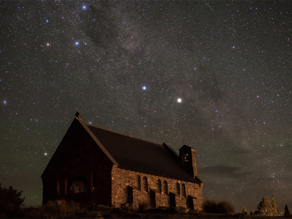 Lake Tekapo in New Zealand is one of the best stargazing sites on Earth