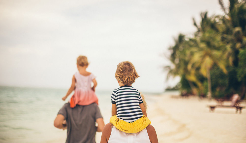 Holidays for families with young children