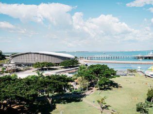 Swim in Darwin's free lagoon