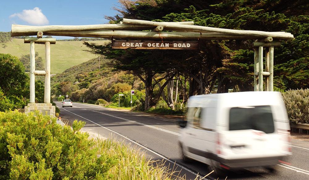 Great Ocean Road camp