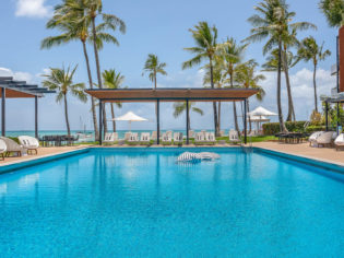 Coral Sea Marina Resort Pool