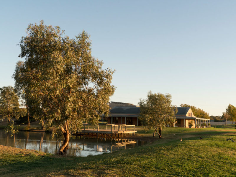 St Anne's WInery in the Murray River Valley