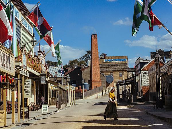 Revisit Ballarat's Sovereign Hill (Credit Tourism Australia)