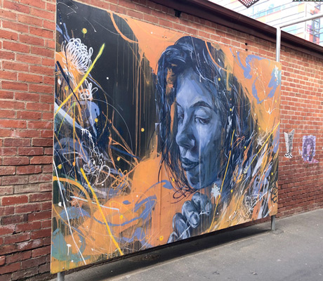 street art bendigo