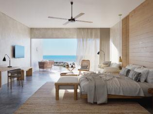 View from the Samphire Resort Villas