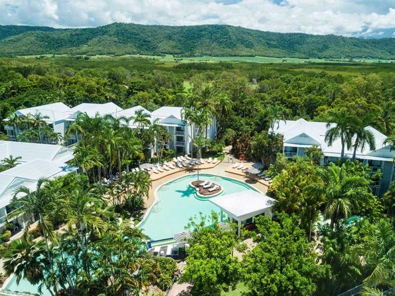Oaks Port Douglas Resort Aerial View