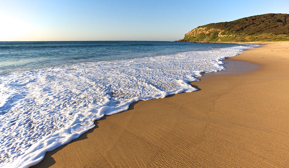 Burwood Beach in the Glenrock State Conservation Area Newcastle