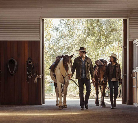The stables at Emirates One&Only Wolgan Valley
