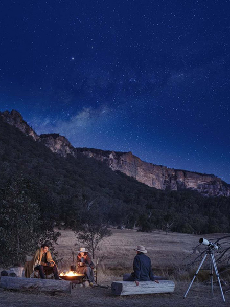 Stargazing experience Emirates One&Only Wolgan Valley