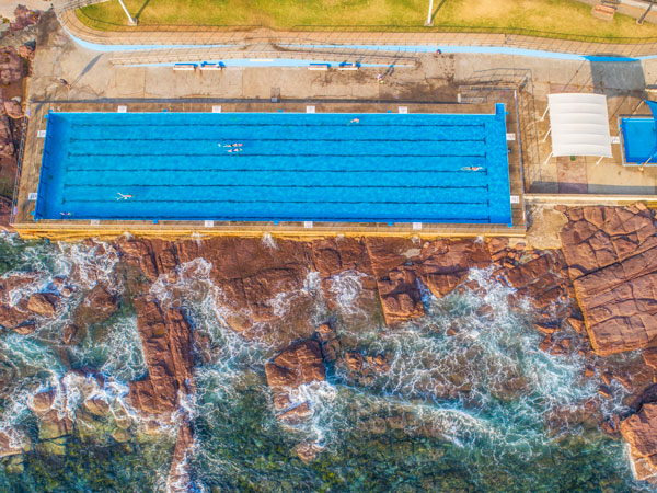 Swim in Shellharbour pools and beaches