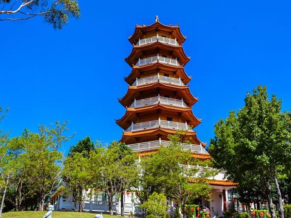 Walk through the Nan Tien Temple