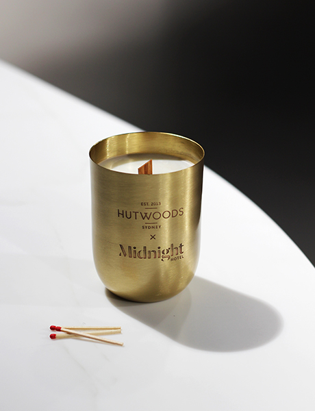 Midnight Hotel candle, Canberra