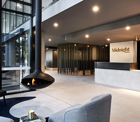 Midnight Hotel lobby, Canberra