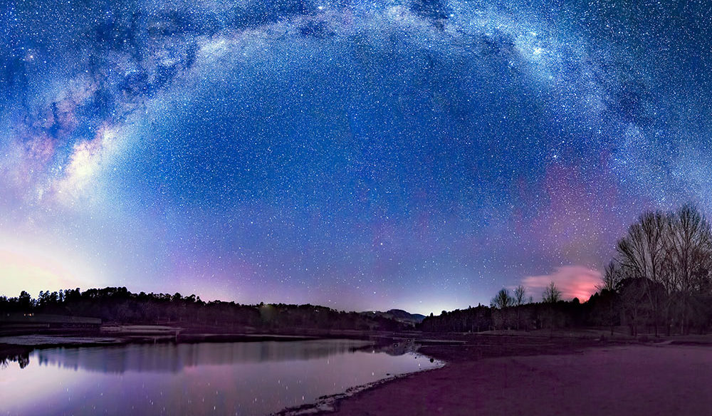 Lake Canobolas at night - Jenny Davidson