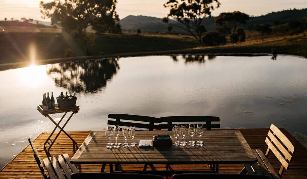 romantic weekend itinerary for Mudgee