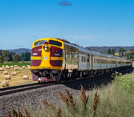 Vintage Rail Journeys, countryside