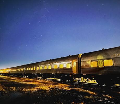 Vintage Rail Journeys, night time