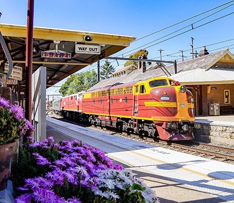 Vintage Rail Journeys, train station