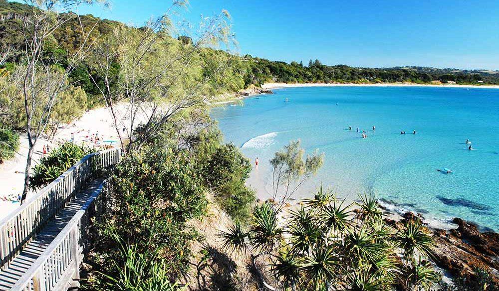 beaches byron bay