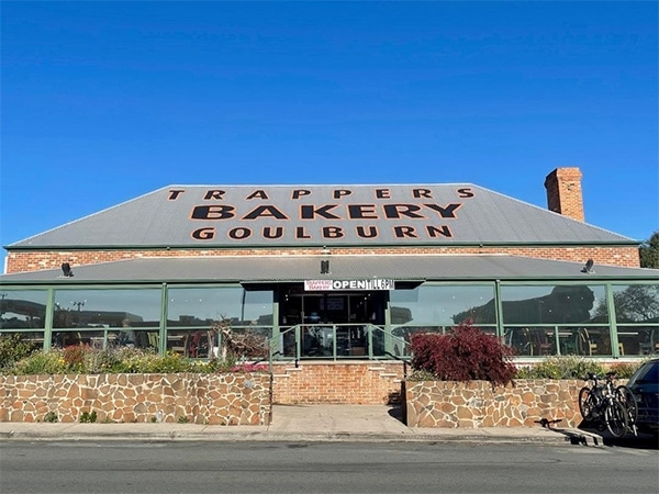 Trappers Bakery golbourn