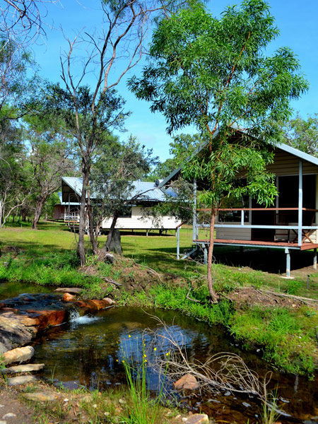 Davidsons exterior cabin