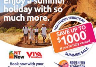Tourism Northern Territory, Australia